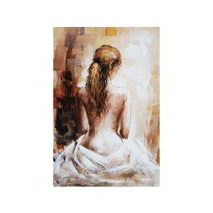 Eliassen Olieverf schilderij Naakte vrouw 80x120cm