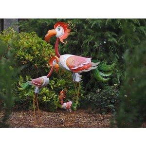 Eliassen Metalen vogel petrie  in 3 maten