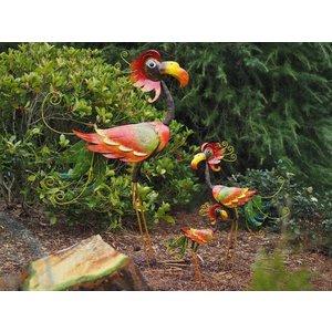 Eliassen Metalen vogel ludiek in 3 maten