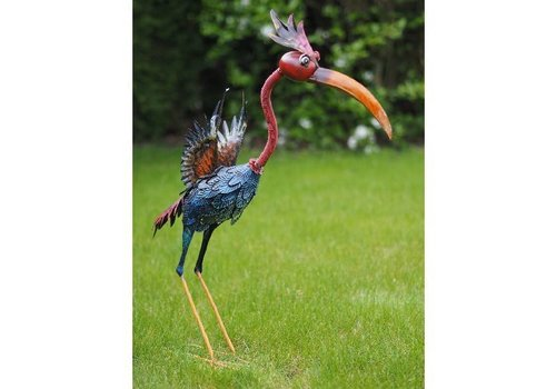 Grappige kleurrijke vogel in 3 maten