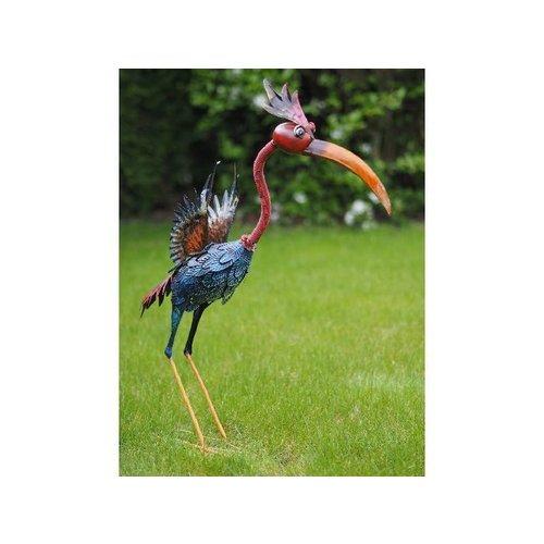 Eliassen Grappige kleurrijke vogel in 3 maten