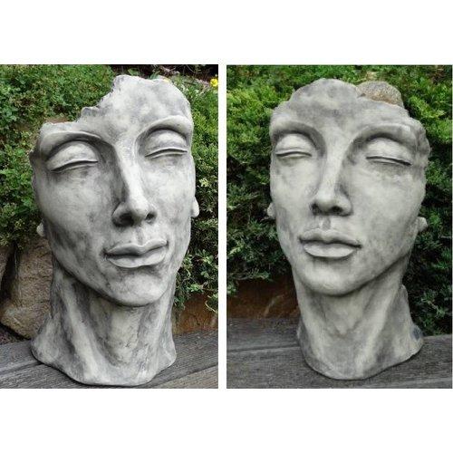 Eliassen Tuinbeeld Gezicht man , vrouw of paar