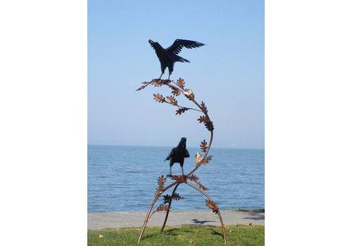 Raven op tak exclusief
