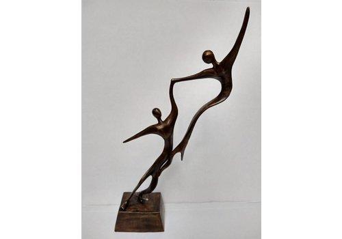 Tuinbeelden Brons Tuin : Moderne bronzen beelden te koop eliassen home and garden