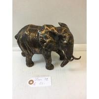 Bronzen beeld Olifant