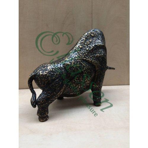 Bronzen beeld Bison