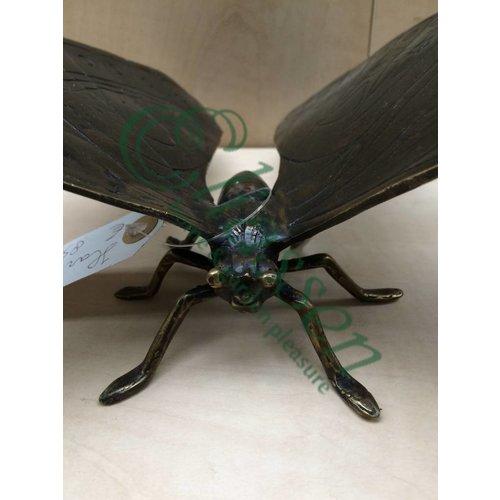 Bronzen beeld Vlinder