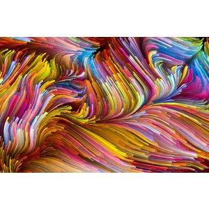 Ter Halle Glasschilderij Wool 110x160cm
