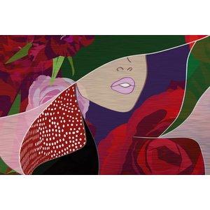 MondiArt Dibond schilderij Kunstje  80x120cm