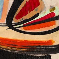 Dibond schilderij  Modern1  80x80cm