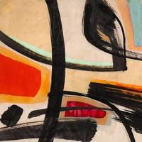 Dibond schilderij  Modern 80x80cm