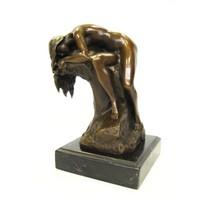 bronzen beeld Slapend Naakt