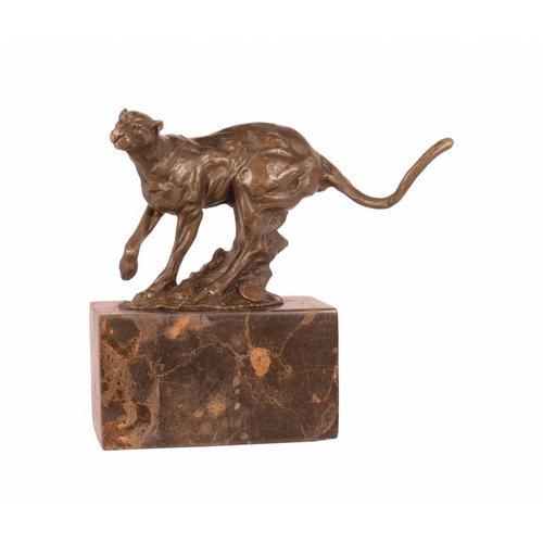 Bronzen beeld Poema