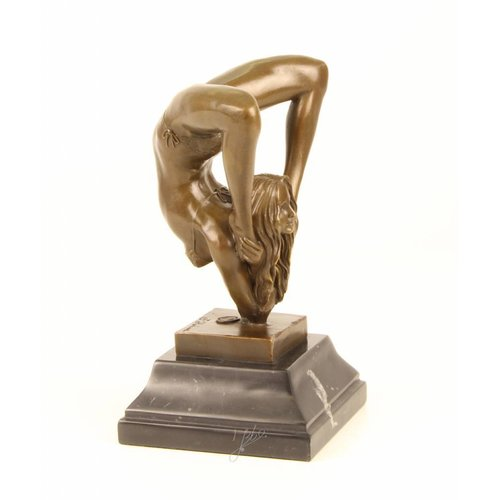 Beeld Turnster van brons