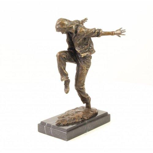 Beeld brons Streetdancer