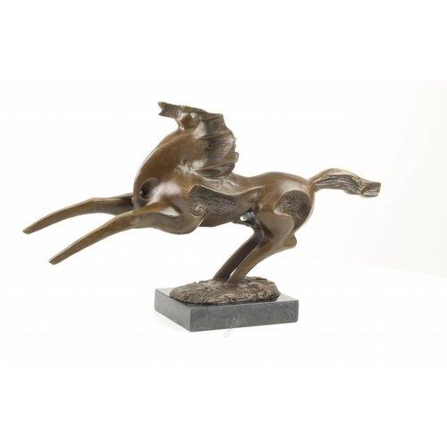 Bronzen beeld Paard modern