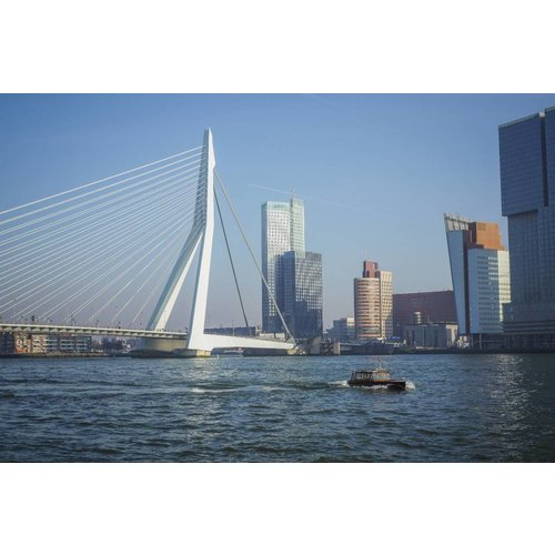Canvas schilderij 80x120cm Rotterdam
