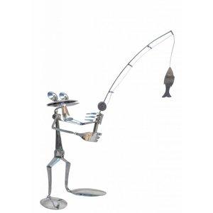 Kikker figuur RVS William de visser