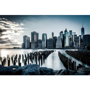 Fotoschilderij 80x120cm Hudson