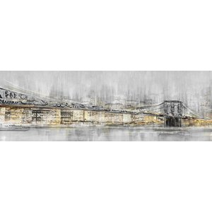 Eliassen Canvas schilderij 150x50 cm Big city