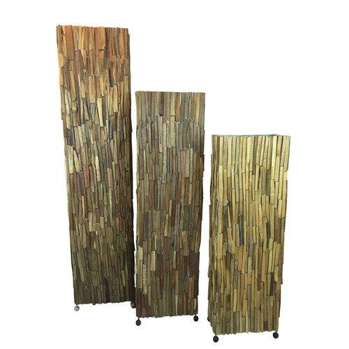 Eliassen Vloerlamp hout Wood Brown