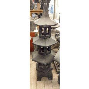 Pagode Japanse tuinlamp 3 etage