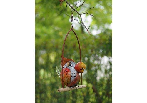 Metalen vogel in schommel 5