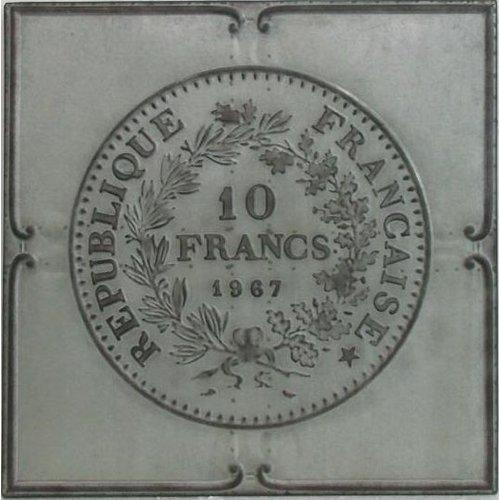 Eliassen 3D schilderij 71x71cm Franse franc