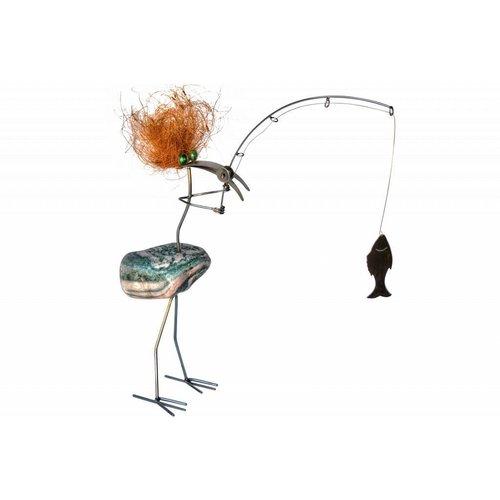 Vogel fantasie RVS Bercadius hengelaar