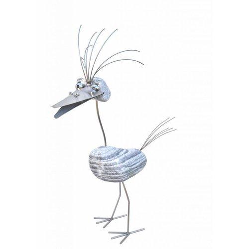 RVS vogel Lieselotte