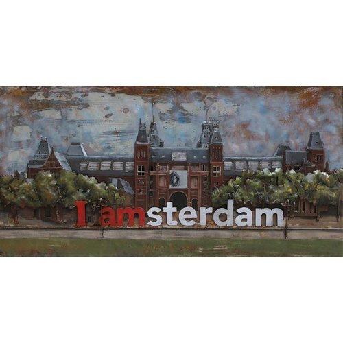 Eliassen 3D schilderij Rijksmuseum 70x140cm