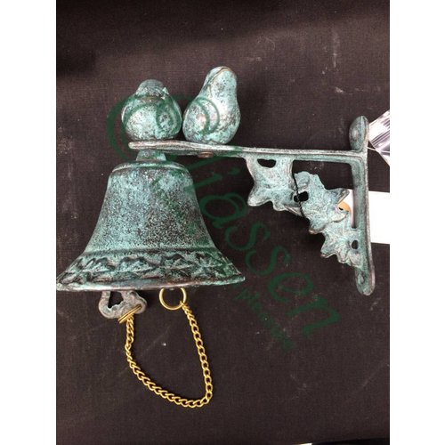 Eliassen Bronzen bel met vogels