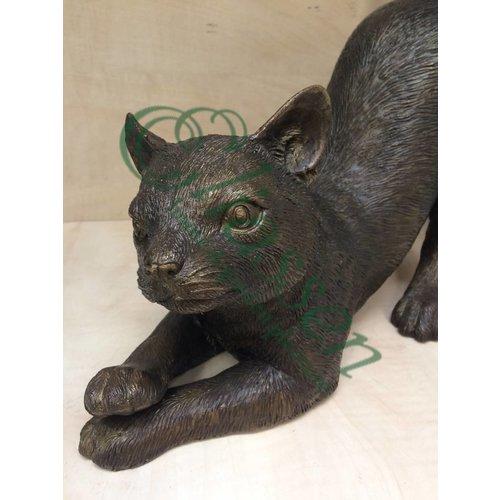 Eliassen Bronzen gestrekte kat