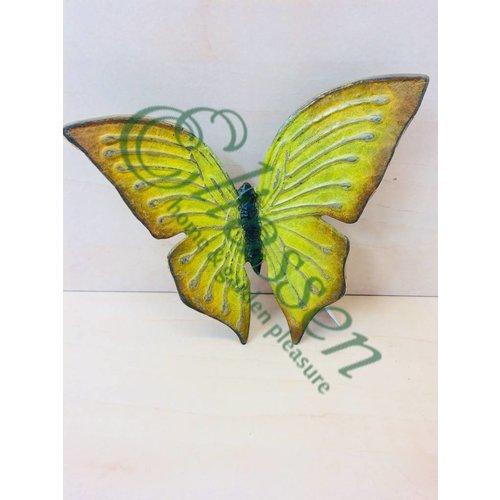 Eliassen Bronzen gele vlinder