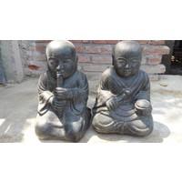 Kindermonnik tweeling boeddistisch