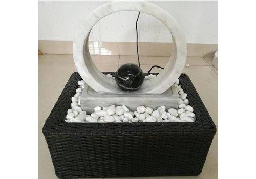 Turning wheel fontein