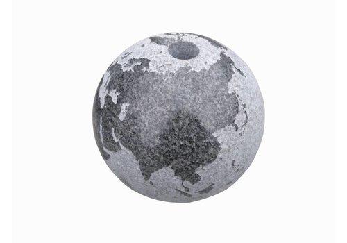 Globe waterbollen in 4 maten graniet