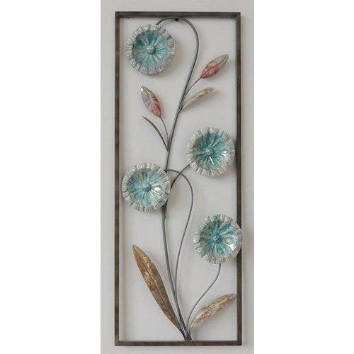 Eliassen Wanddecoratie Bloemen 2 28x73cm