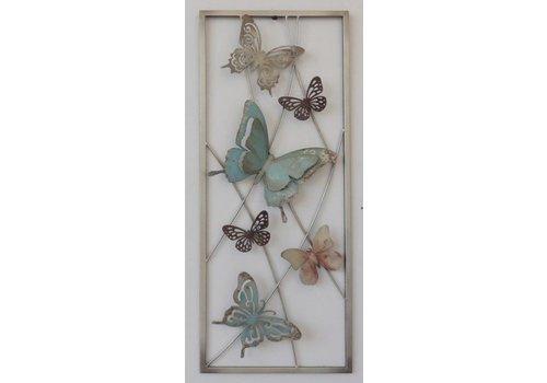 Wand decoratie vlinders 1