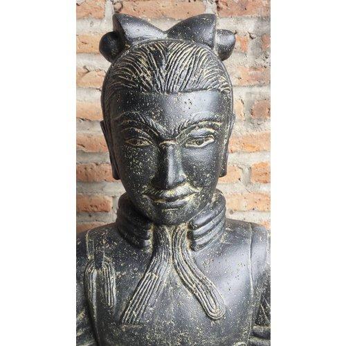 Eliassen Chinese krijger beeld 120cm