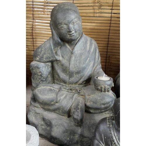 Eliassen Shaolin monnik zittend