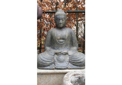 Boeddha beeld Japans in lotus zit in 3 maten