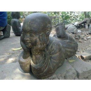 Eliassen Kindermonnik beeld liggend in 6 maten boeddistisch
