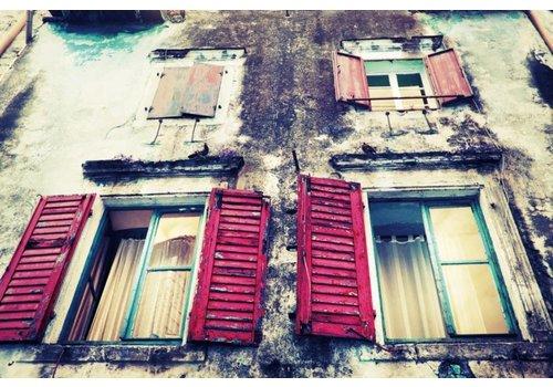 Foto op glasschilderij 80x120cm Cairo