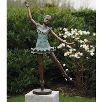 Beeld brons Ballerina groot