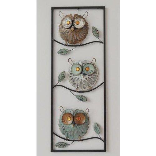 Eliassen Wanddecoratie uilen