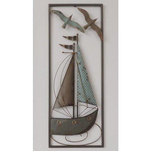 Eliassen Wanddecoratie Zeilboot