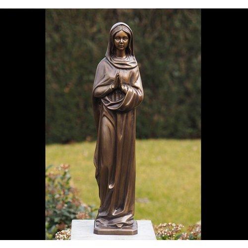 Eliassen Mariabeeld 62cm brons
