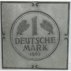 Eliassen 3D schilderij metaal 71x71x4cm Duitse Mark