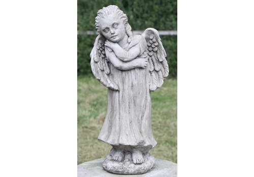 Tuinbeeld staande engel